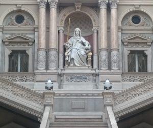 Justitia . Göttin der Gerechtigkeit